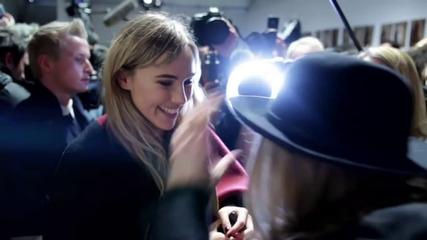 News video: All Access At Burberry A/W 2014 I GRAZIA