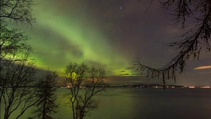 News video: Spectacular Northern Lights spotted in Norway